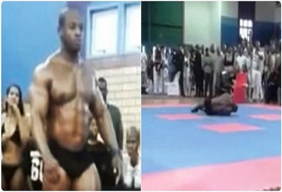 South African body-builder dies horrifically after attempting back flip