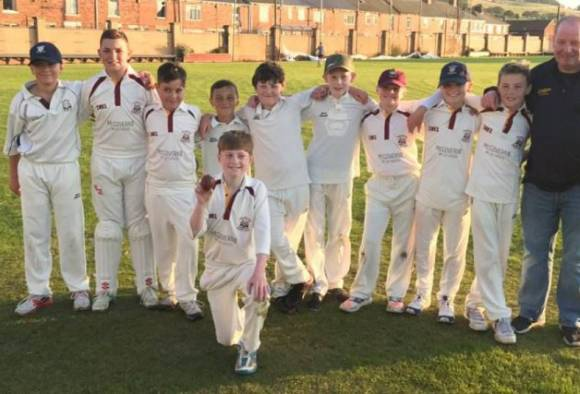 13 year old luke robinson takes six wickets in an over latest update