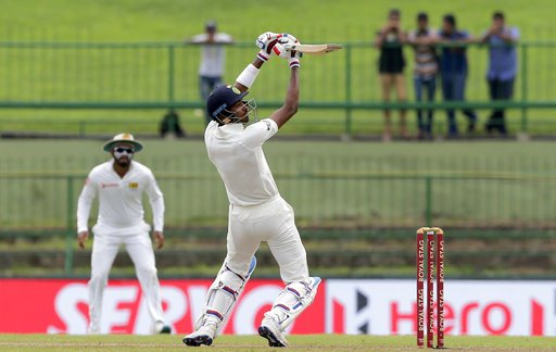 hardik pandya hits 26 runs in a over against sri lanka