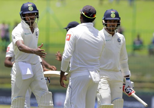 Sri Lanka bowled out for 135 in reply to India's 487 latest updates