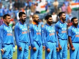 श्रीलंकेविरुद्धच्या उर्वरित वन डे सामन्यांपूर्वी राष्ट्रगीत नाही!