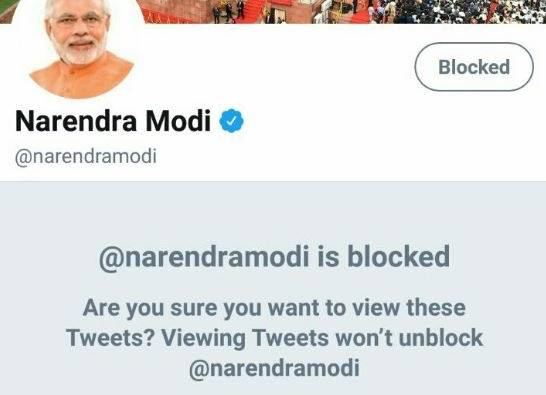 PM Modi under fire for following abusive trolls on Twitter. #BlockNarendraModi trending