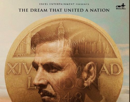 Akshay kumar shared his gold cinema's poster on his 50th birthday