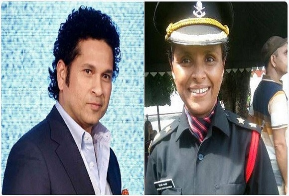 Sachin Tendulkar's tweet on Lt Swati Mahadik