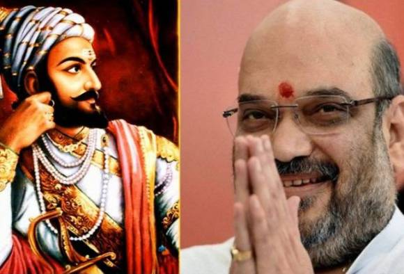 BJP President Amit Shah to write history of Shivaji Maharaj latest update