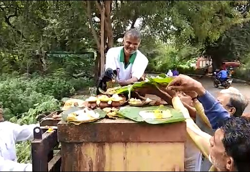 Nashik : Injured Crow used for Pitrupaksha rituals latest update