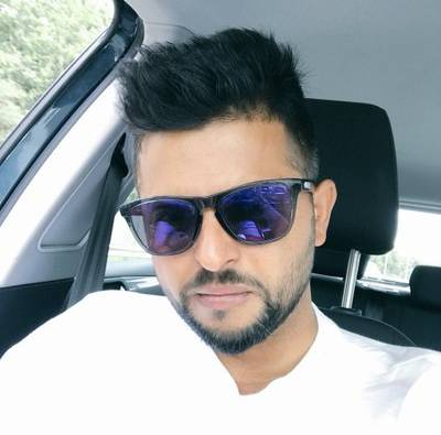 cricketer suresh raina car tyre burst at etawah latest update