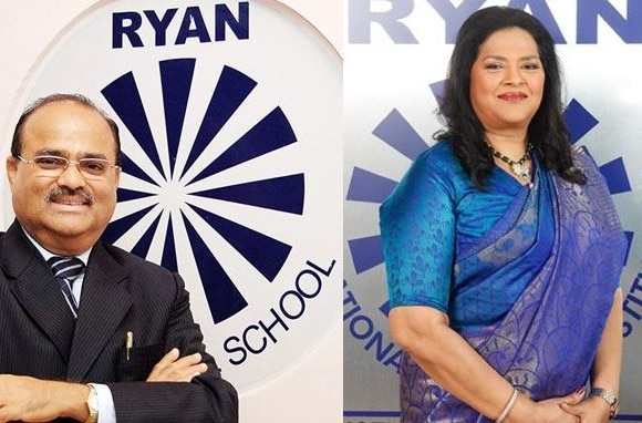 Who is Augustine Pinto of Ryan school?