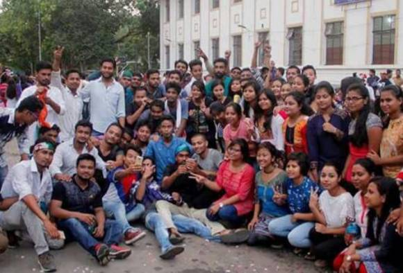 DUSU election 2017 : NSUI wins President and Vice President posts, ABVP wins Secretary and Joint Secretary posts