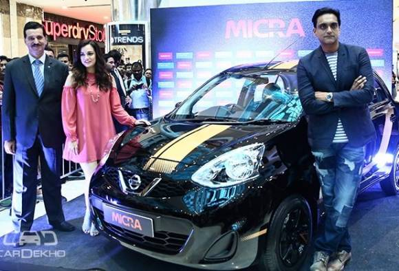 nissan micra fashion edition launched latest update