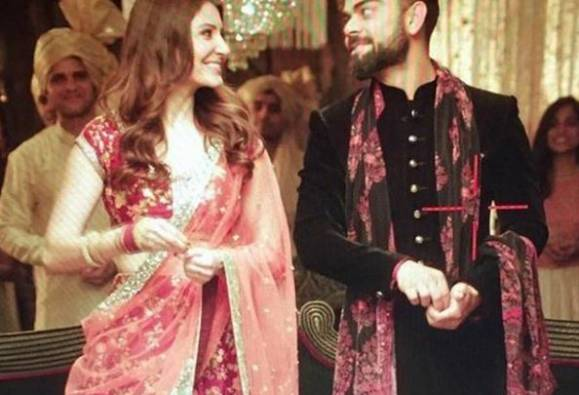 Anushka and Virat' photo in traditional look goes viral