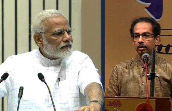 Shivsena criticized to PM Modi on Bullet train issue latest update