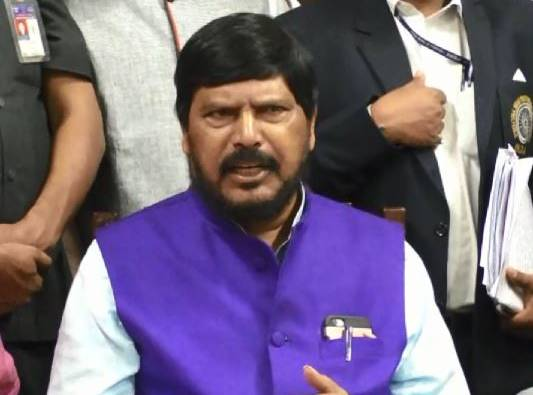 Dalit youth should join the Indian Army, will get foreign liquor : Ramdas Athawale