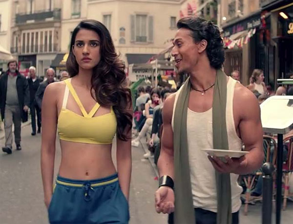 Actor tiger shroff's latest photo