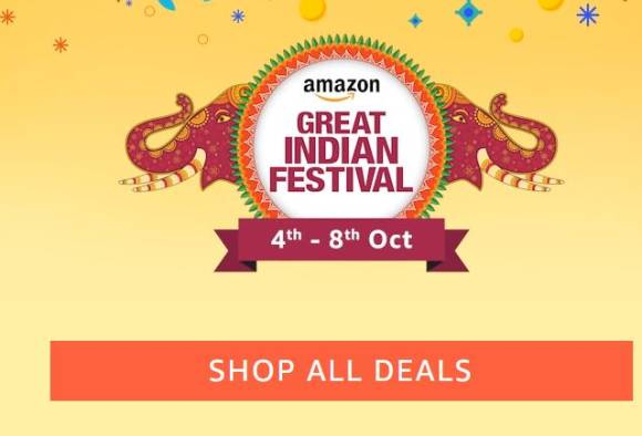 unbelievable electronic deals at amazon great indian festival from 4th october to 8th october