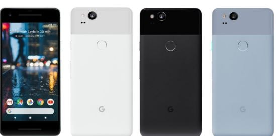 google pixel 2 and pixel 2 XL features