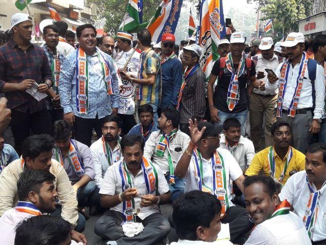 raj thackeray rally on rail infrastructure Mumbai Photo gallery