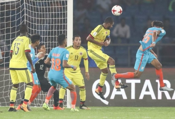 fifa under 17 world cup Colombia defeats India 2-1latest update