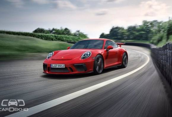 porsche 911 gt3 car launched in india price rs 2.31crore latest update