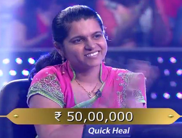 kbc 9 minakshi jain wins 50 lakh rupees because of man ki baat