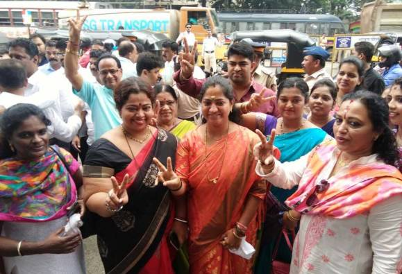 Mumbai Ward No 116 by election counting live update