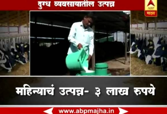 36 lakhs per year income from dairy business