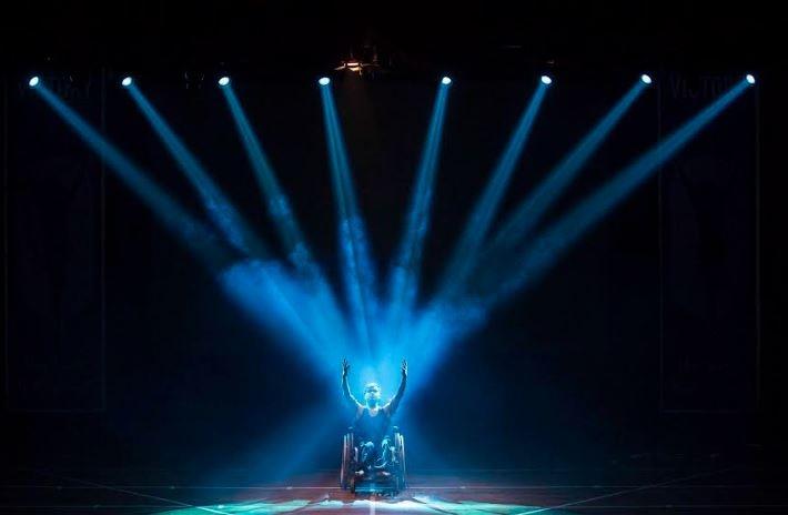 Victory on wheels, Shiamak Davars dance foundation