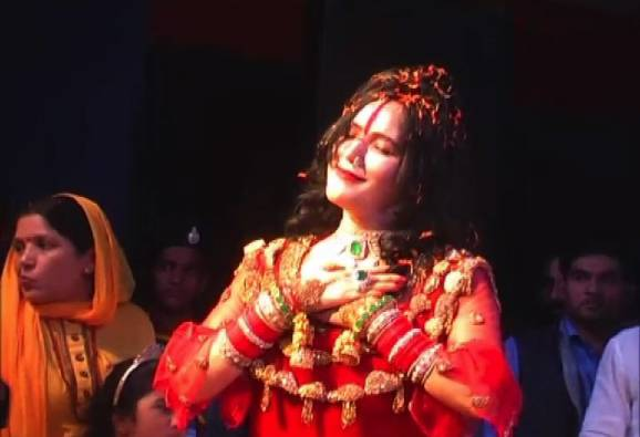 Another video of controversial woman Radhe Maa has come to light from Indore