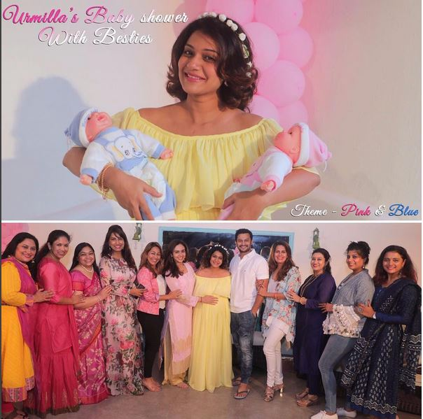 Baby shower of Actress Urmila Kothare
