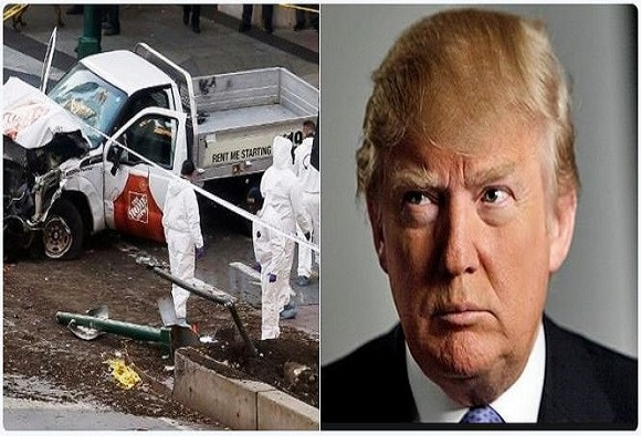 Manhattan Attack : We must not allow ISIS to return in America, says Donald Trump