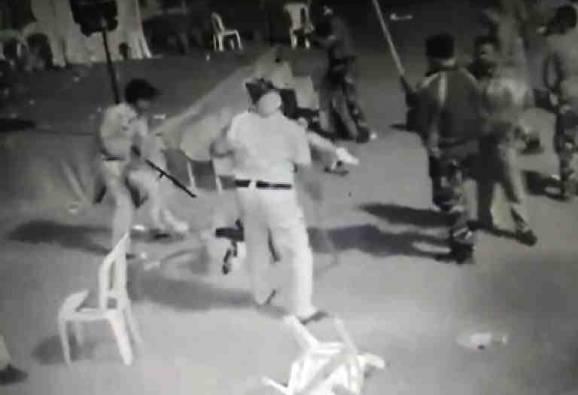 डीजे वाजवण्याचा वाद, पोलिसांची महिला, वृद्धांना अमानुष मारहाण