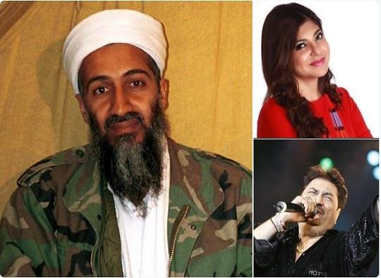 Osama Bin Laden was fan bollywood singers Kumar Sanu, Alka Yadnik latest update