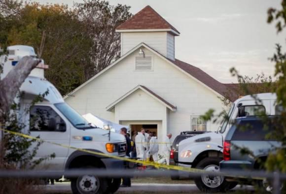 Texas church shooting : 26 killed in shooting at Baptist church