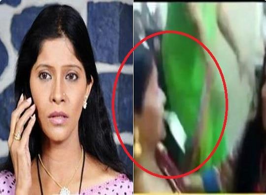 Video of Marathi actress Madhavi Juvekar dancing as BEST employees throw notes went viral latest update