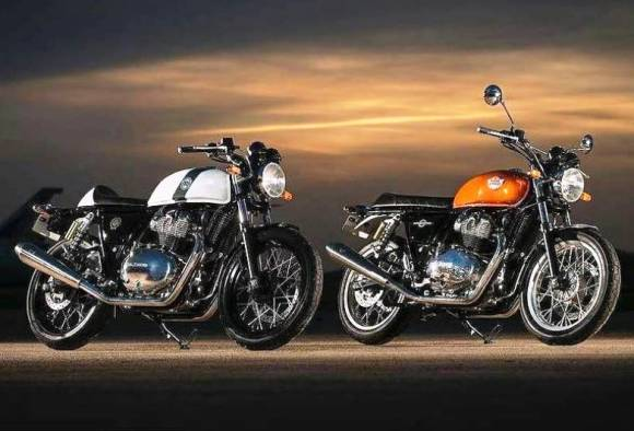Royal Enfield Interceptor 650 twin and Continental gt 650 twin revealed