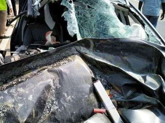 car accident in express way three died