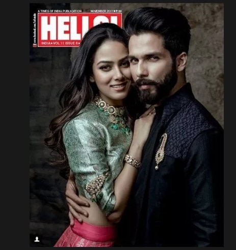 Shahid And Mira Kapoor's photoshoot for Magazine Cover