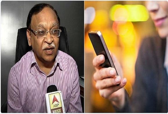 स्मार्टफोनच्या अतिवापरामुळे मेंदूच्या कॅन्सरची भीती : प्रा. गिरीश कुमार