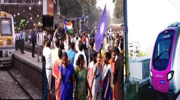 मुंबई पूर्वपदावर, रेल्वे, मेट्रो आणि रस्ते वाहतूक सुरु