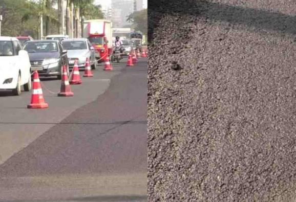 रस्त्यासाठी मायक्रो सर्फेसिंग टेक्नॉलॉजी, नवी मुंबई पालिकेने 40 कोटीवाचवले