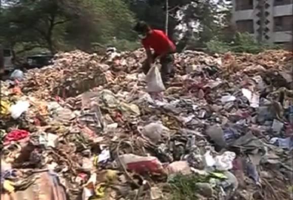 कचराकोंडीचा तेरावा दिवस, औरंगाबादकरांना श्वास घेणंही कठीण
