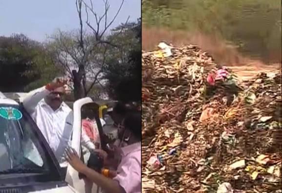 औरंगाबादेतील कचराकोंडीचा 17 वा दिवस, आमदार सावेंची गाडी अडवली