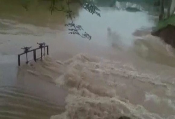 Devastation first rain, 140 villages drowned, millions people affected