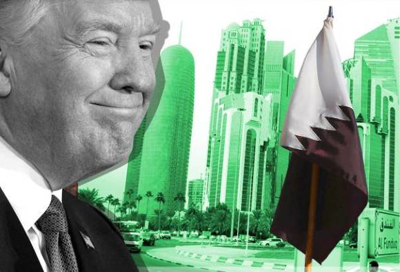 Trump criticized Qatar for supporting terrorism while signs 12 billion arms deal