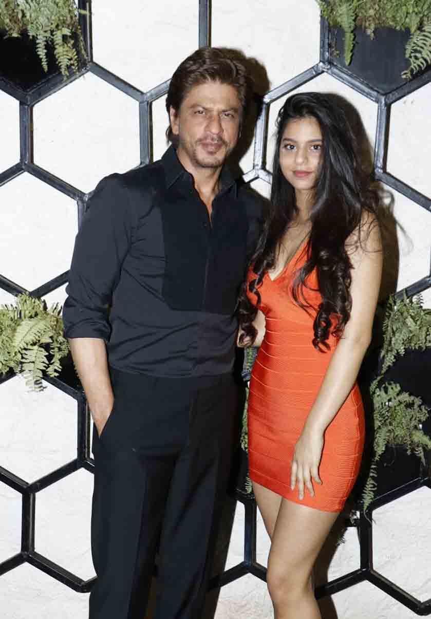 SRK-and-Suhana-at-Arth-2