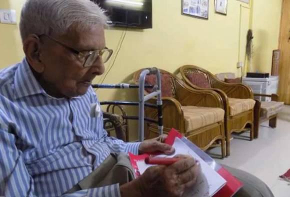 98 ਸਾਲ ਦੀ ਉਮਰ 'ਚ ਕੀਤੀ ਐਮ.ਏ. ਅਰਥ ਸਾਸ਼ਤਰ