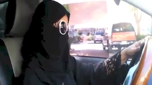 Women in Saudi Arabia driving