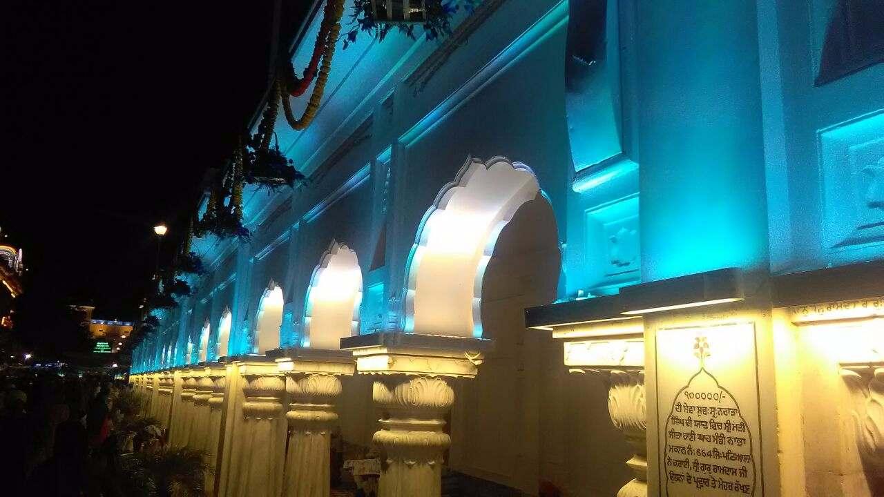 Harimandir Sahib New LED Lights 6