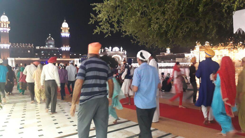 Harimandir Sahib new LED Lights 5