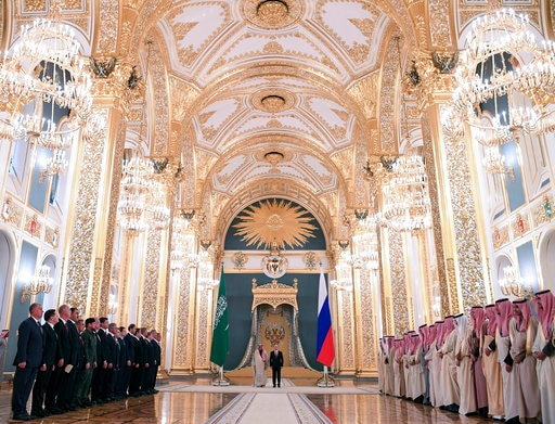 Russia Saudi Arabia